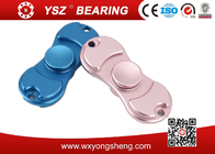 Golden / Blue / Pink Brass Hand Spinner Fidget Toy With 608 Bearing 8*22*7mm