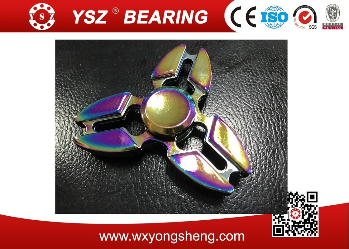 Cigreen Fashion Design Finger Spinner Toy Pressure Relax With Metal Material