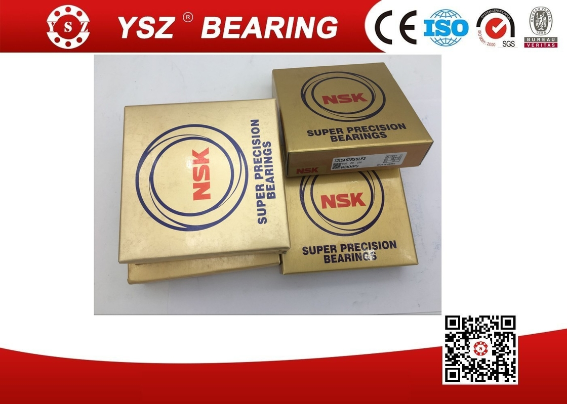 7214CTRSULP3 Ball Screw Cnc Machine Bearings , Single Row Angular Contact Bearing