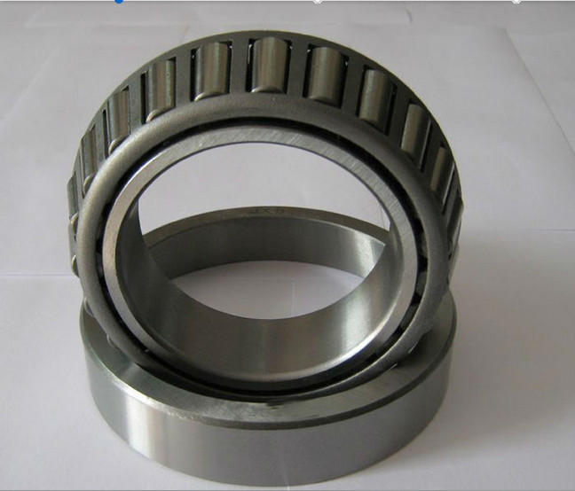 Steel Cage Single Row Tapered Roller Bearings , Machinery Tapered Roller Bearings