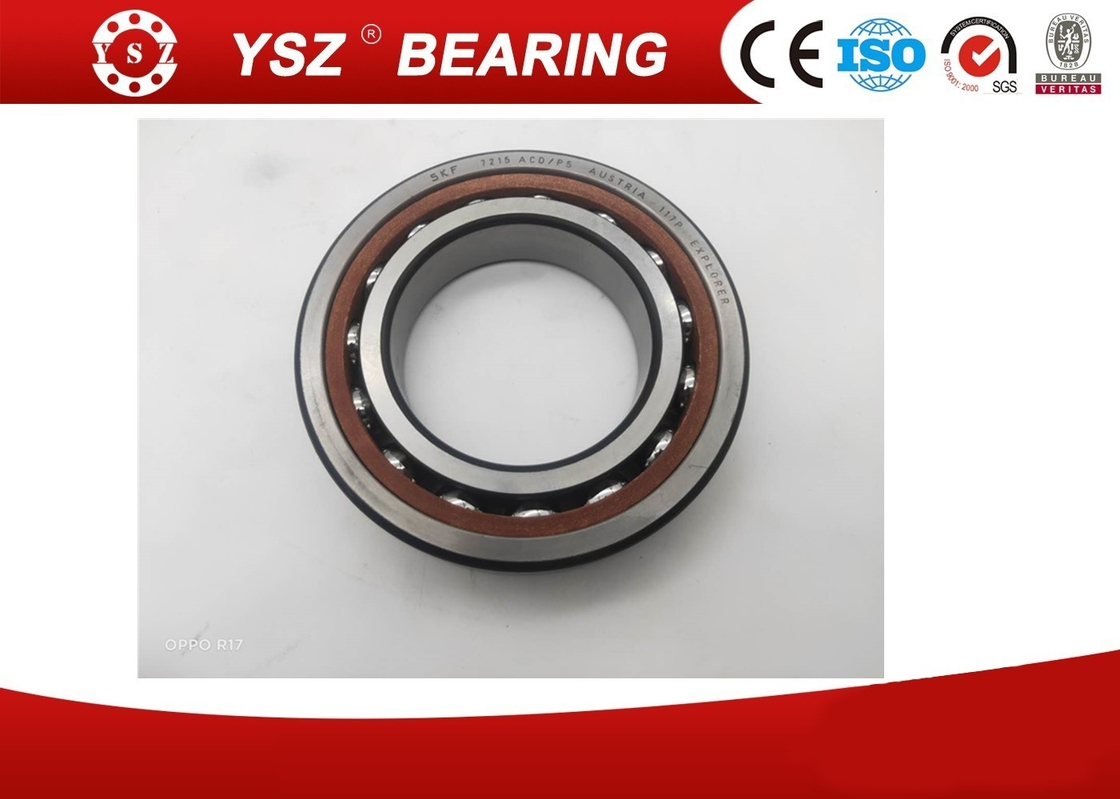 High Precision  Angular Contact Ball Bearing  7215ACD P5 SKF paper machinery