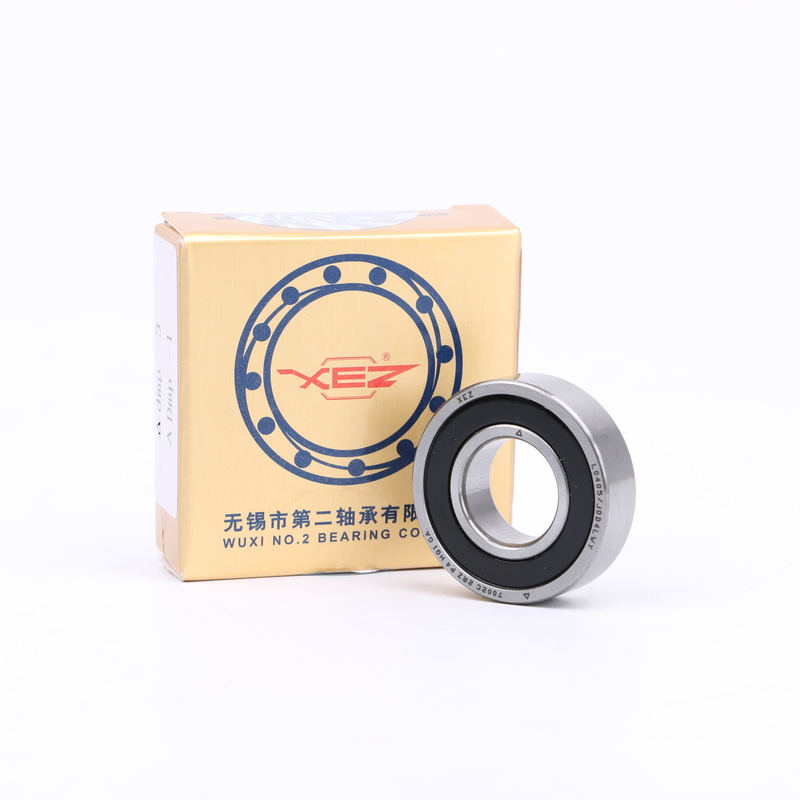 Ceramic Precision 7002C 2RZ HQ1 Single Row Angular Contact Bearing